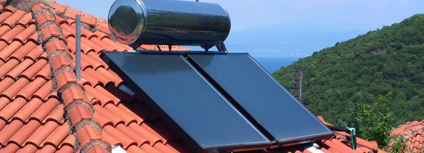 De quoi est composé une installation solaire thermique ?